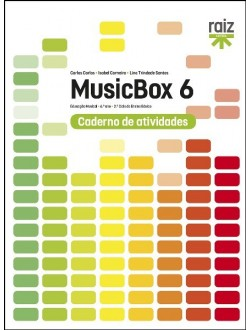 MUSICBOX 6 - Ed.Musical - 6.º Ano (CAT)