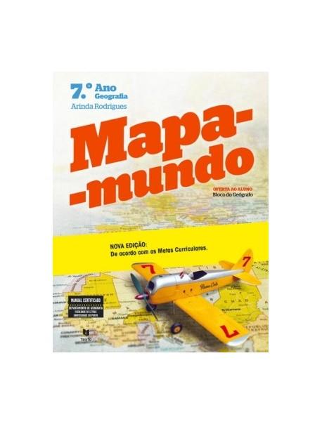 Mapa-Mundo 7 - Geografia 7.ºAno