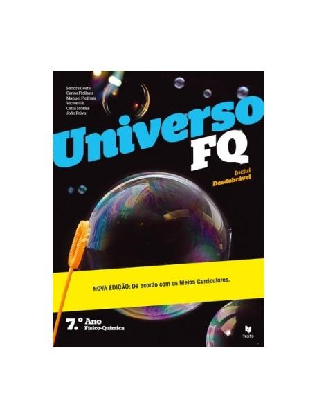 Universo FQ 7 - Ciências Físico-Químicas - 7.º Ano