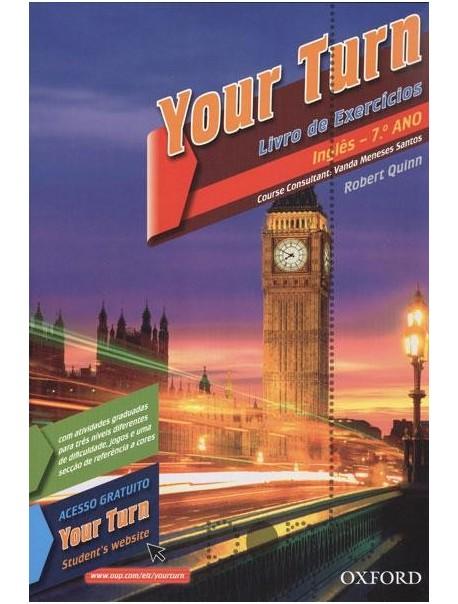 Your Turn 7 - Inglês - 7.º Ano (CAT)