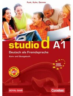 Studio d A1 Textbook + CD 10ºano