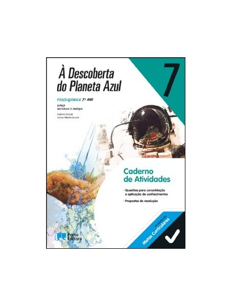À DESCOBERTA DO PLANETA AZUL 7- FQ (CAT)