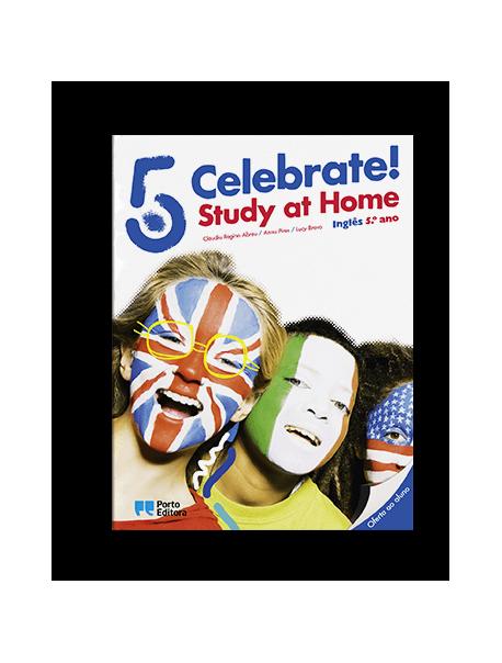 Celebrate! - Inglês - 5.º Ano - Manual