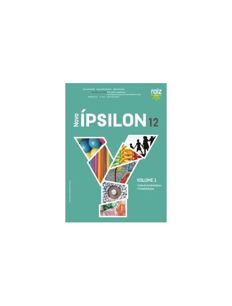 Novo Ípsilon 12 - Matemática A - 12.º ano - Manual