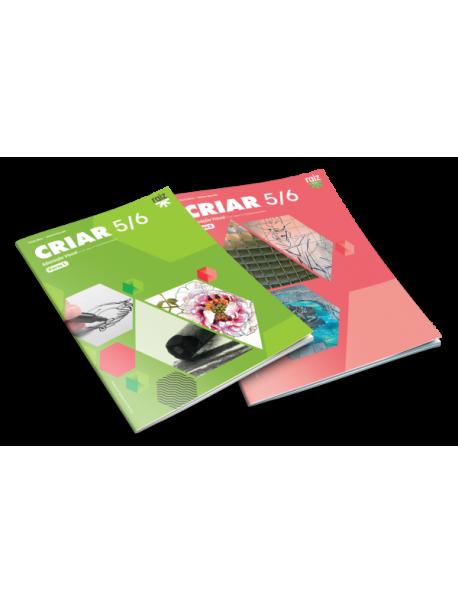 Criar - Educação Visual - 5.º/6.º anos - Caderno de Atividades