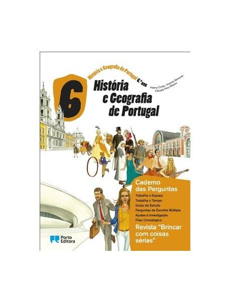 História e Geografia de Portugal - 6.º ano (CAT)