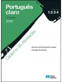 Português claro - Ens. Prof.-Cad. Atividades - Mód. 1, 2, 3, 4 (10.º ano / ano 1)